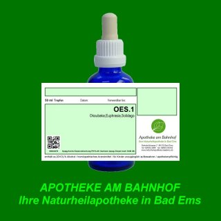 OES.1  Spagyrik Essenzenmischung 50ml