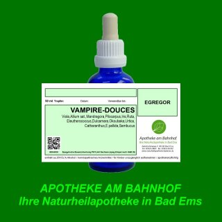 VAMPIRE-DOUCES  Spagyrik Essenzenmischung 50ml